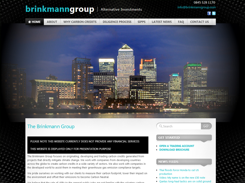 bespoke web designer London