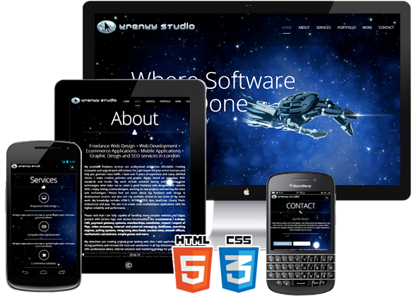 Responsive Web Designer London